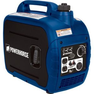 Powerhorse Gas Powered Portable Inverter Generator – 2,000 Starting / 1,600 Running Watts, Quiet CARB-Compliant Electric Generator
