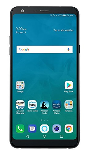 LG Stylo 4 - 32 GB - Unlocked (AT&T/Sprint/T-Mobile/Verizon) - Aurora Black - Prime Exclusive Phone