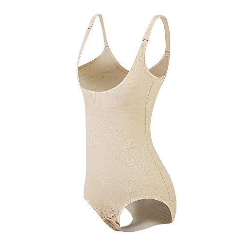 KSKshape Seamless Body Shaper Open Bust Shapewear Firm Control Bodysuit for Women