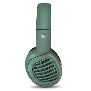 iBall Decibel Bluetooth 5.0 Headphone with SD/FM/Alexa Built-in (Forest Green)