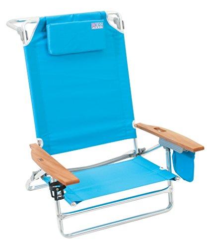 Rio Beach Big Kahuna Extra Large Folding Beach Chair,  Turquoise