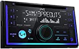 JVC KWR930BT Car Stereo - Double Din, Bluetooth, CD,MP3/USB AM/FM Radio, Multi Color Illumination