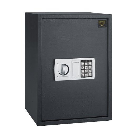 Paragon Deluxe Safe 7775 Lock and Safe 1.8 CF Large Electronic Digital Safe Gun Jewelry Home Secure