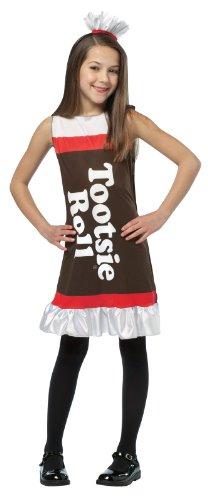 Child Tootsie Roll Costume Dress - 4-6