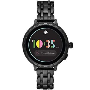 Kate-Spade-New-York-Womens-Scallop-Smartwatch-2-powered-with-Wear-OS-by-Google-pairs-wirelessly-with-both-iPhones-and-Android