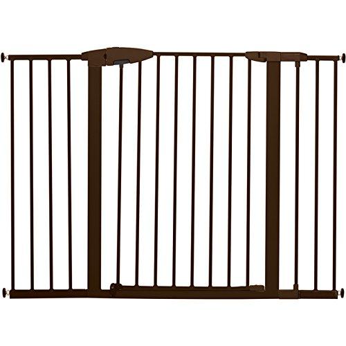 "Munchkin Easy Close XL Metal Baby Gate, 29.5"" - 51.6"" Wide, Bronze, Model MK0009-111"