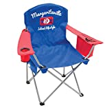 Margaritaville Outdoor Quad Folding Chair - Island Lifestyle 1977 - Blue/Red