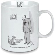 Porcelain-Mug-New-Yorker-Cartoon-Outside-the-Box-Perfect-gift-for-cat-lovers