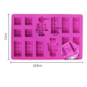 Wilk Convenient Household Supplies 1PC Silicone Ice Cube Maker Tray Mould Ice Cream Maker Appliance Chocolate Mold Tray Cake decoration Mold 41MBiMDfPXL