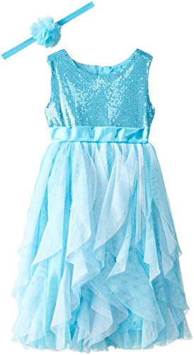 Queen Elsa Dress with Matching Tiara