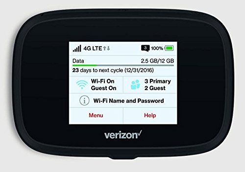 Novatel Verizon Wireless Jetpack 7730L 4G LTE Advanced Mobile Hotspot