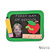 Fun Express 1st Day of School Picture Frame Magnet Craft Kits (Makes 12)