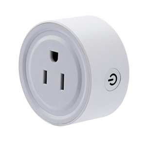 Binmer Wireless US WiFi Phone Remote Repeater Smart AC Plug Outlet Power Switch Socket (White)