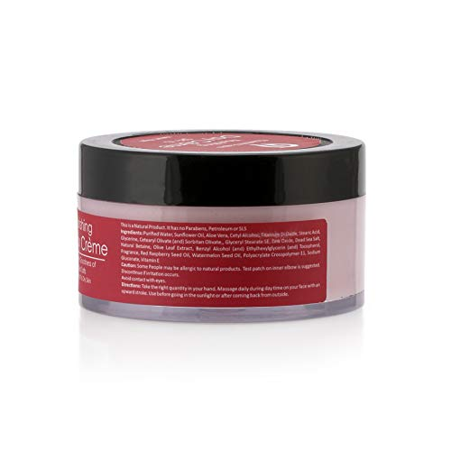 41MQ63D9OIL - Chauth & Nagsan Dead Sea Salts Enriched Perfect Radiance and Nourishing Day Creme | Red Raspberry & Watermelon | SPF 15 | Normal to Dry Skin-50gm