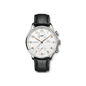 IWC Men's (IW371445) Portugieser Chronograph Automatic Watch, Black