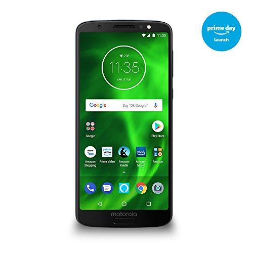 Moto G6 – 64 GB – Unlocked (AT&T/Sprint/T-Mobile/Verizon) – Deep Indigo – Prime Exclusive Phone