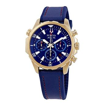 Bulova Men's Marine Star - 97B168 Blue One Size