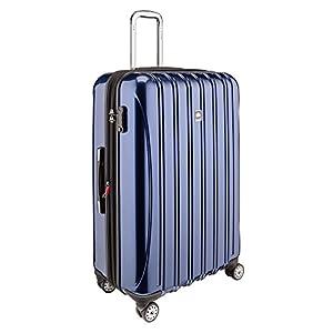 Sleek looking hardside spinner suitcase