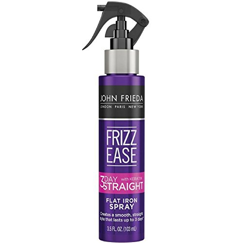 John Frieda Frizz Ease 3-Day Straight Flat Iron Spray 3.5 oz (Pack of 4)
