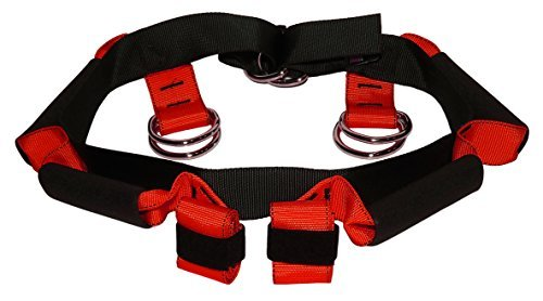 Lift Assist Harness - Fall Prevention Gait belt to safely lift and maneuver heavy, elderly, or injured patients - Reduce risk of back injury for providers - (Large) by Doty Belt