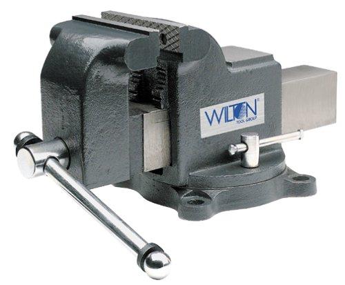 Wilton Model WS4 Jaw Width 4-Inch Throat Depth 2-3/4-Inch Shop Vise