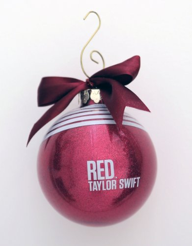 Taylor Swift RED BALL ORNAMENT