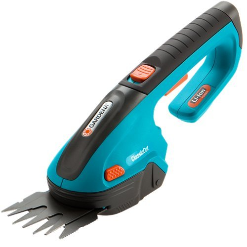 Gardena 8885-U 3-Inch  Cordless Lithium Ion Grass Shears, Classic Cut