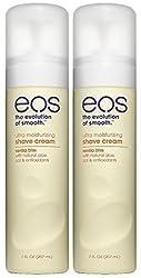 EOS Ultra Moisturizing Shave Cream, Vanilla Bliss - 7 oz - 2 pk  Image