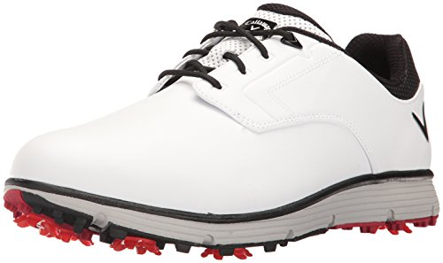 Callaway Men's LaJolla Golf Shoe, White, 12 D US