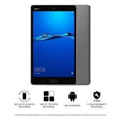 HUAWEI MediaPad M3 Lite 8 – 8″ Android 7.0 Tablet, FHD IPS Display with Eye-Comfort Mode, 32GB, 8MP Front and Rear Camera, Dual Speakers Tuned by Harman Kardon, 4800mAh, Children's Corner, Grey