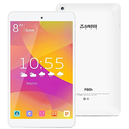 Teclast P80h Tablet 2GB+16GB 8.0 inch Android 5.1, MT8163 Quad-core 1.3GHz, HDMI, BT, WiFi, OTG (White)