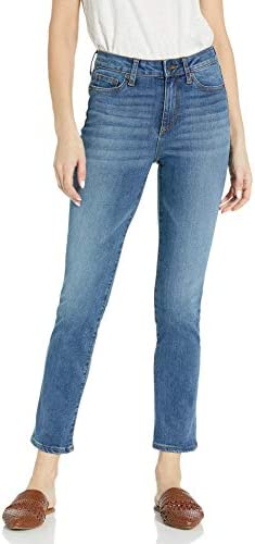 Amazon Brand - Goodthreads Women's Mid-Rise Slim Straight Jean 1