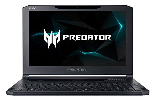Acer Predator Triton 700 PT715-51-732Q Ultra-Thin Gaming Laptop, 15.6' FHD 120Hz G-SYNC, i7-7700HQ, Overclockable GeForce GTX 1080 8GB MAX-Q Design, 32GB DDR4, 512GB SSD (256GBx2), RGB Mech KB