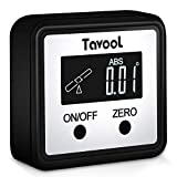 Digital Angle Gauge Angle Finder - Tavool Upgraded Digital Protractor Saw Angle Gauge Magnetic Digital Level Box Bevel Gauge Inclinometer with Backlight LCD Display for Miter Saw Woodwork Home Project