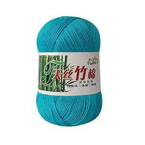 Afdiscount New Bamboo Cotton Warm Soft Natural Knitting Crochet Knitwear Wool Yarn 50g 41N0yR5JPbL