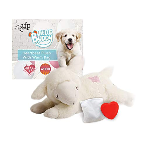 ALL FOR PAWS AFP Snuggle Sheep Pet Behavioral Aid Toy Plush Toy 1