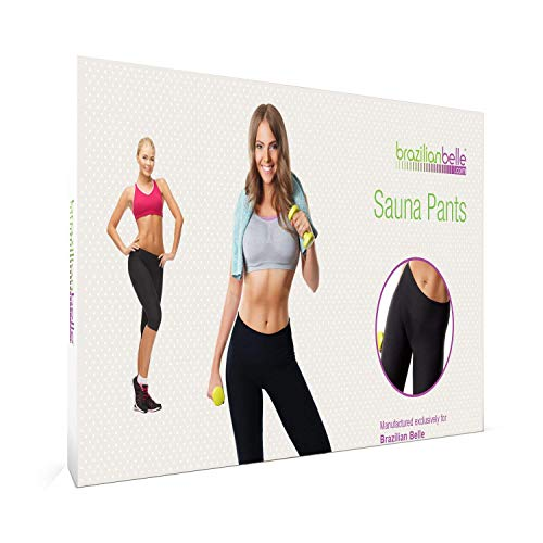 Weight Loss Pants - Neoprene Sauna Provide Anti Cellulite, Slimming Benefits - Get Better Results from Exercise Weight Loss - Breathable, Moisture-Wicking Fabric- Available in 7 Sizes