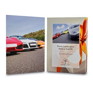 Activity Superstore Driving Experience Days Gift Experience Voucher – Get behind the wheel of one of these amazing supercars! – Perfect Birthday for men husband boyfriend