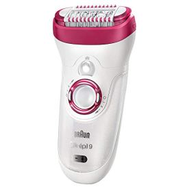 Braun-Epilator-Silk-epil-9-9-521-Hair-Removal-for-Women-Wet-Dry-Cordless-and-2-Extras