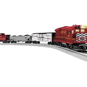 Lionel Trains – Lehigh Valley Freight LionChief Set with Bluetooth, O Gauge 41NLgpQSAYL