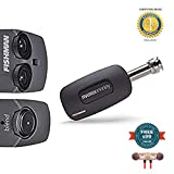 Fishman PRO-MAN-MBV Matrix Infinity Mic Blend Pickup System, Narrow Format includes Free Wireless Earbuds - Stereo Bluetooth In-ear and 1 Year Everything Music Extended Warranty