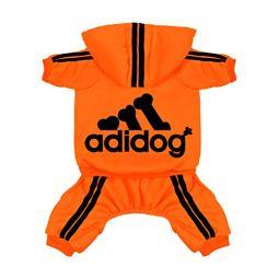 Scheppend-Original-Adidog-Pet-Clothes-for-Dog-Cat-Puppy-Hoodies-Coat-Doggie-Winter-Sweatshirt-Warm-Sweater-Dog-Outfits-Orange-Small
