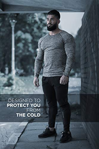 Kamo Fitness Long Sleeve Top - Baselayer That Will Keep You Warm & Active.Performance Fit & Quick-Drying Fabric. 2 Fashion Online Shop gifts for her gifts for him womens full figure