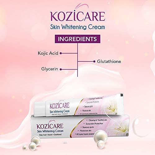41NQ qyIQkL - Kozicare KoJic Acid, Arbutin,Glutathione Skin Whitening & Lightening Cream,15g