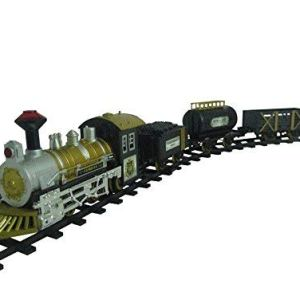 Multicolor Classic Collection Locomotive Train Set with Light and Sound Battery Operated 41Ne5hDrJPL