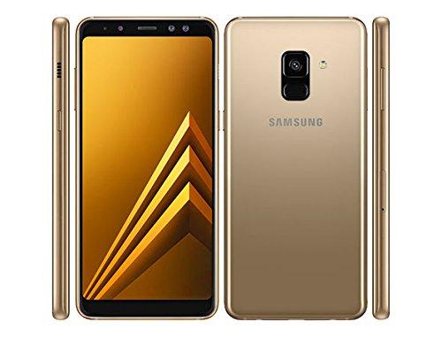 "Samsung Galaxy A8+ (2018) Factory Unlocked SM-A730F/DS DUAL SIM 32GB 4GB Ram, 6"" Screen, 16MP Rear Camera + Dual Frontal Camera 16MP+8MP, IP68, 4G LTE International Version No Warranty (Gold)"