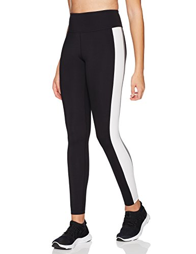 71GwUr E2AL High-waisted legging made with 4-way stretch, moisture-wicking fabric featuring stripes down sides and V-back yoke Reference our size chart to achieve the best fit Drop-in pocket at center back waistband fits a smartphone