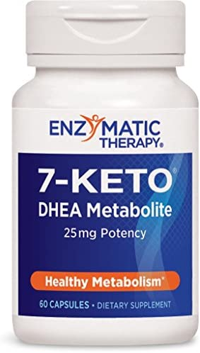 Enzymatic Therapy 7-KETO3 DHEA Metabolite, 25mg Potency, 60 Capsules 3