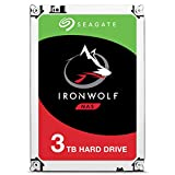Seagate IronWolf 3TB NAS Internal Hard Drive HDD - 3.5 Inch SATA 6Gb/s 5900 RPM 64MB Cache for RAID Network Attached Storage (ST3000VN007)