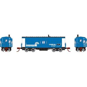 Athearn N Bay Window Caboose CR #21157, ATH26715 41NyteOgzYL